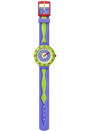 Montre Montre Fille Purple Flower FCSP035 - Flik Flak - Vue 1
