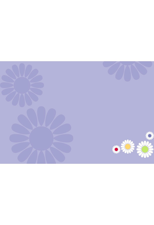 Montre Montre Fille Purple Flower FCSP035 - Flik Flak - Vue 3