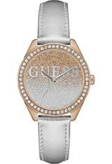 Montre Glitter Girl - Doré rose & Blanc W0823L7 - Guess