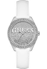Montre Glitter Girl - Blanc W0823L1 - Guess