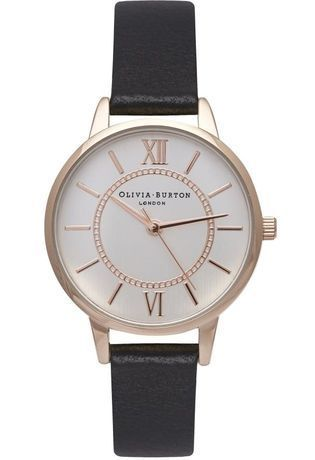 Montre Wonderland - Black, Rose Gold and Silver Mix OB14WD59 - Olivia Burton - Vue 0