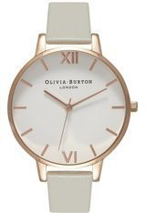 Montre Big Dial - Grey and Rose Gold OB15BDW02 - Olivia Burton