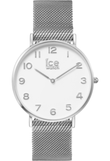Montre City Milanese - Silver Shiny White Dial 012701 - Ice-Watch