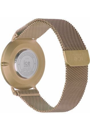 Montre City Milanese - Gold Shiny White Dial 012707 - Ice-Watch - Vue 2
