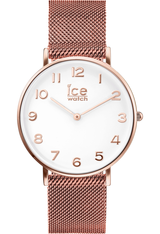 Montre City Milanese - Rose Gold Shiny White Dial 012711 - Ice-Watch