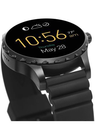Montre Fossil Q - Marshal Silicone noir FTW2107 - Fossil - Vue 4