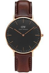 Montre Classic Black Bristol - Rose Gold DW00100137 - Daniel Wellington