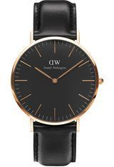 Montre Classic Black Sheffield - Rose Gold DW00100127 - Daniel Wellington