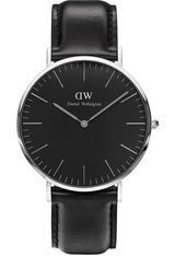 Montre Montre Homme Classic Black Sheffield 40 mm DW00100133 - Daniel Wellington