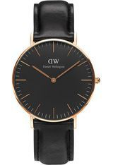 Montre Classic Black Sheffield - Rose Gold DW00100139 - Daniel Wellington