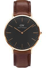 Montre Classic Black Bristol - Rose Gold DW00100125 - Daniel Wellington