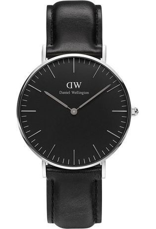 Montre Montre Femme Classic Black Sheffield 36 mm DW00100145 - Daniel Wellington - Vue 0