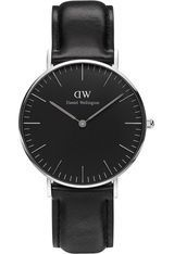 Montre Montre Femme Classic Black Sheffield 36 mm DW00100145 - Daniel Wellington