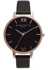 Montre Big Dial - Black and Rose Gold OB15BD66 - Olivia Burton
