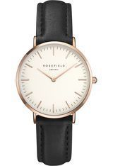 Montre THE TRIBECA - White Black Rose Gold TWBLR-T53 - Rosefield