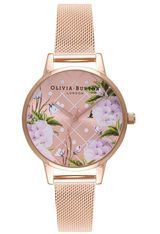 Montre Dot Design Rose Gold Mesh OB16DD06 - Olivia Burton
