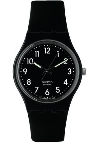 Montre Montre Femme, Homme Black Suit Soft GB247T - Swatch - Vue 0