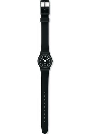 Montre Montre Femme Lady Black Single LB170E - Swatch - Vue 1