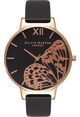 Montre Applied Wing - Black & Rose Gold OB16AM97 - Olivia Burton