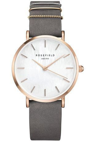 Montre THE WEST VILLAGE - Elephant Grey Rose Gold WEGR-W75 - Rosefield - Vue 0