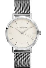 Montre THE MERCER - White Silver MWS-M40 - Rosefield
