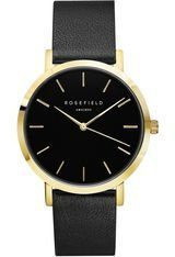 Montre THE GRAMERCY - Black Black Gold GBBLG-G36 - Rosefield