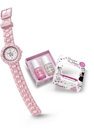 Montre Montre Fille Coffret Pretty Rose FCSP047 - Flik Flak - Vue 3