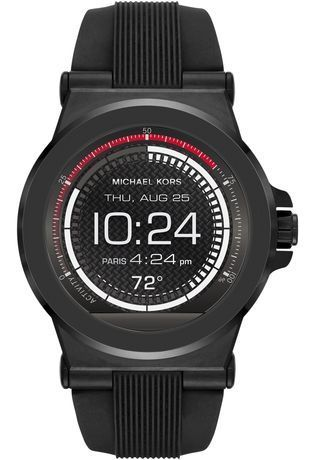 Montre Smartwatch Dylan Silicone Black Tone MKT5011 - Michael Kors - Vue 0
