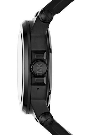 Montre Montre Homme Smartwatch Dylan Silicone Black Tone MKT5011 - Michael Kors