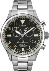 Montre Waterbury Chronograph  TW2R24900D7 - Timex