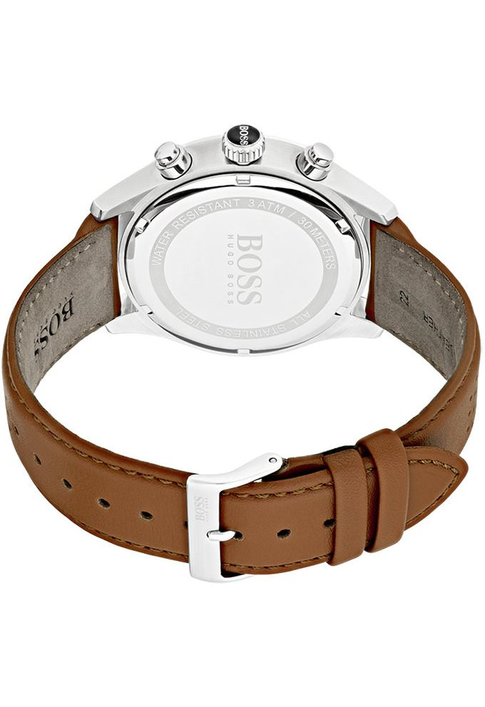 13fafe94229dcf Montre Hugo Boss Grand Prix 1513475 Camel   Montres and Co