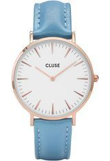 Montre La Bohème - Rose Gold White/Retro Blue  CL18033 - Cluse