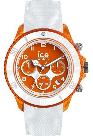 Montre Montre Homme ICE dune White Orange Red Grande L 014221 - Ice-Watch - Vue 0