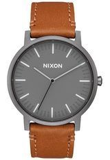 Montre Montre Homme Porter Leather A1058-2494-00 - Nixon