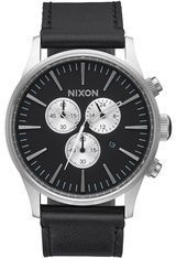 Montre Montre Homme Sentry Chrono Leather A405-000-00 - Nixon