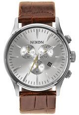 Montre Montre Homme Sentry Chrono Leather A405-1888-00 - Nixon