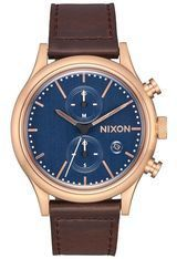 Montre Montre Homme Station Chrono Leather A1163-2629-00 - Nixon