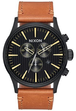 Montre Montre Homme Sentry Chrono Leather A405-2664-00 - Nixon - Vue 0