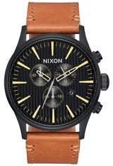 Montre Montre Homme Sentry Chrono Leather A405-2664-00 - Nixon
