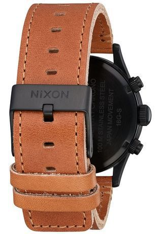 Montre Montre Homme Sentry Chrono Leather A405-2664-00 - Nixon - Vue 2