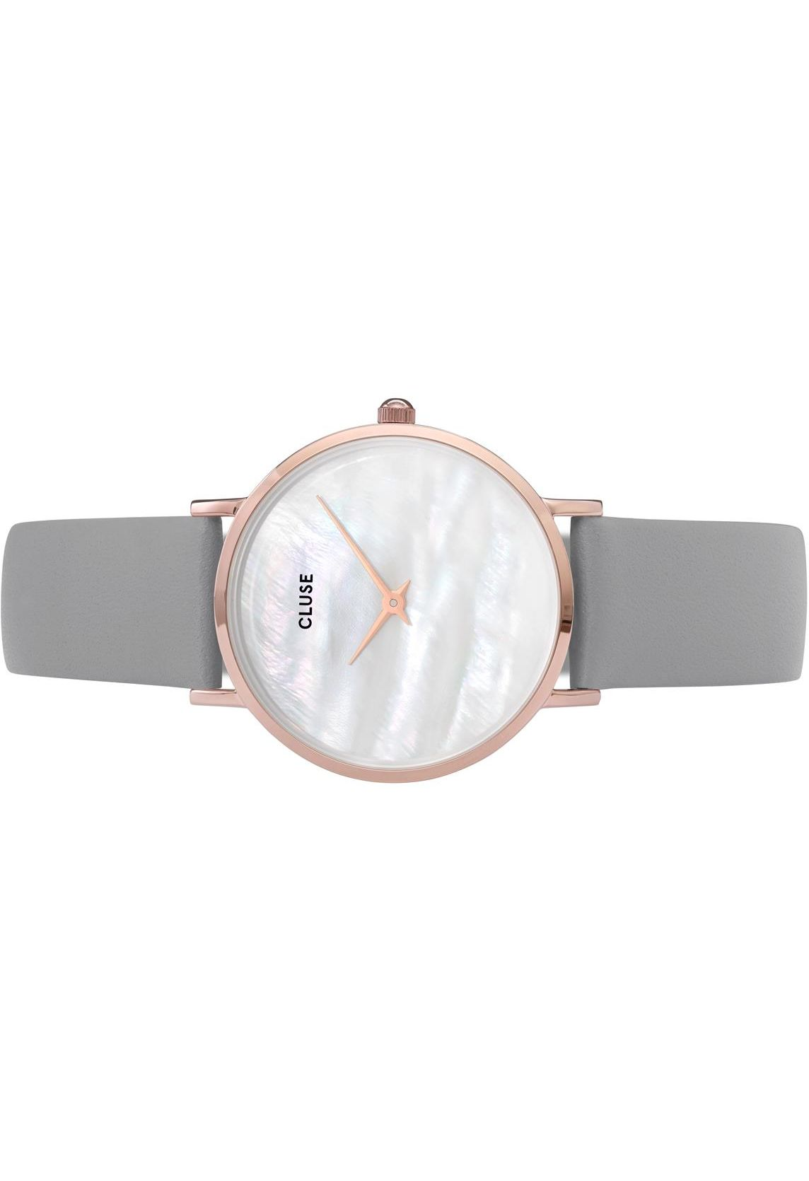 Grey Pearlelephant Montre Perle Gold Rose La White Fl1cTJuK3
