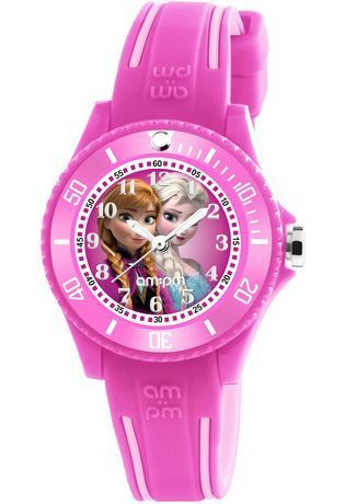 Montre Montre Fille Disney Elsa Anna DP186-K464E - AM:PM - Vue 0