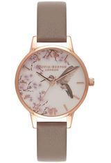 Montre Montre Femme Painterly Prints London Grey and Rose Gold OB16PP17   - Olivia Burton