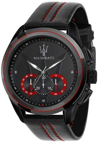 montre maserati traguardo r8871612023 noir montres and co. Black Bedroom Furniture Sets. Home Design Ideas