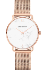 Montre Montre Femme Miss Ocean Line Marble IP Rose Gold Mesh PH-M-R-M-4S - Paul Hewitt