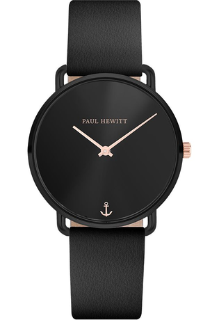 Montre Montre Femme Miss Ocean - Black Sunray Leather Black PH-M-B-BS-32S - Paul Hewitt - Vue 0