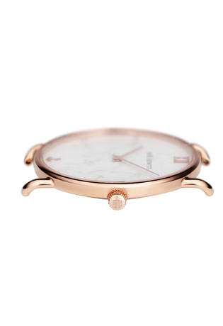 Montre Montre Femme Miss Ocean - Marble IP Rose Gold Leather Graphite  PH-M-R-M-31S - Paul Hewitt - Vue 1