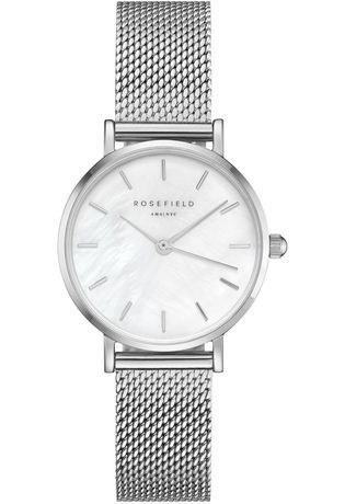 Montre Montre Femme The Small Edit -White/Silver 26WS-266 - Rosefield - Vue 0