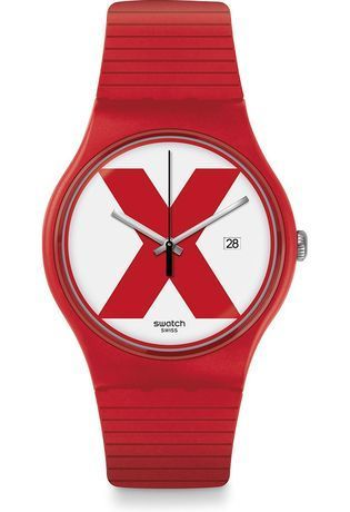 Montre Montre Femme, Homme XX-Rated Red SUOR400 - Swatch - Vue 0