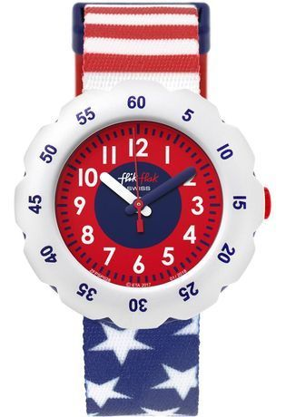 Montre Montre Enfant Stars and Stripes FPSP028 - Flik Flak - Vue 0